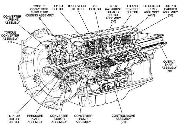 4 6 ford engine parts breakdown